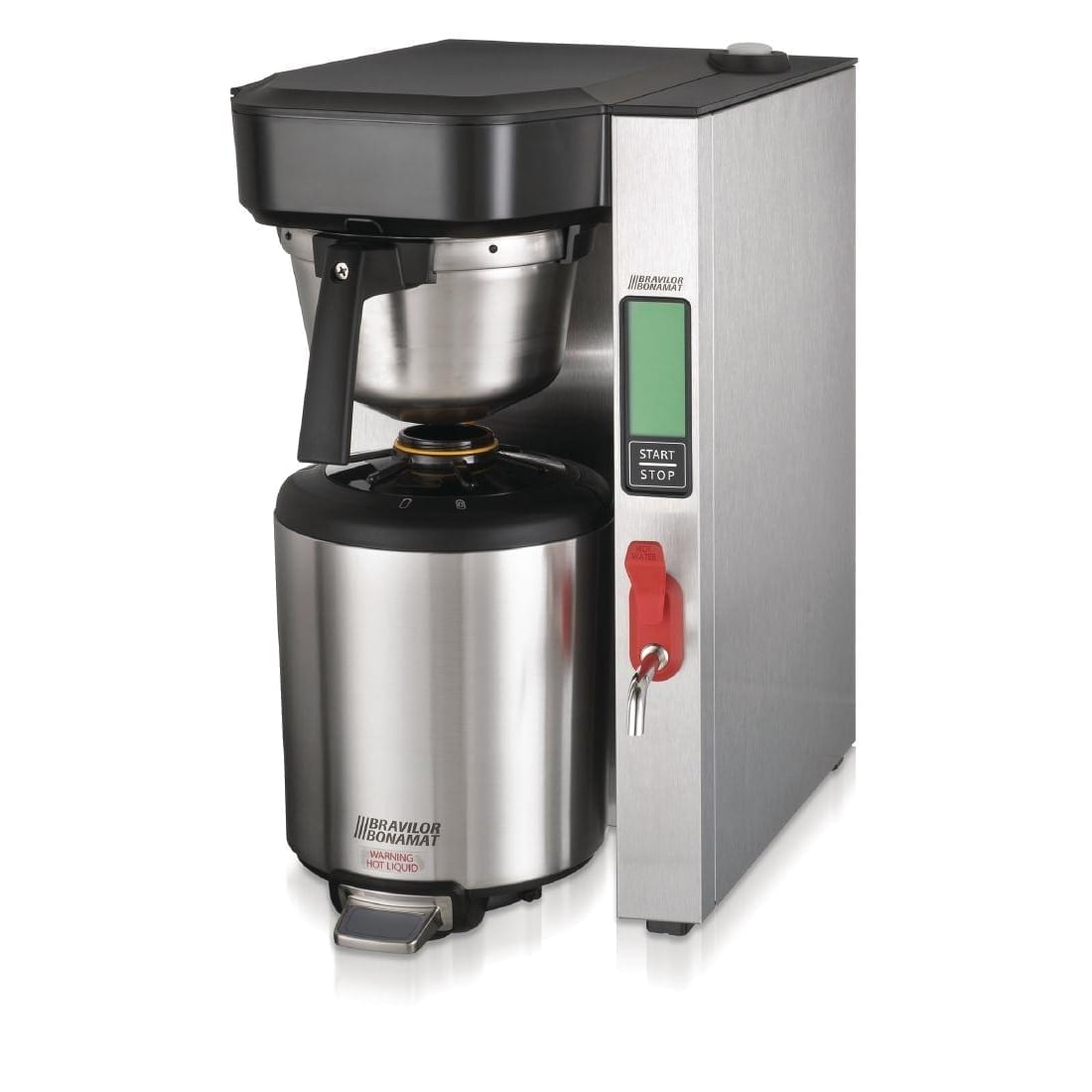 Bravilor Aurora 5.7Ltr Single Low Profile Thermal Brewer (3 Phase) (Direct)-0