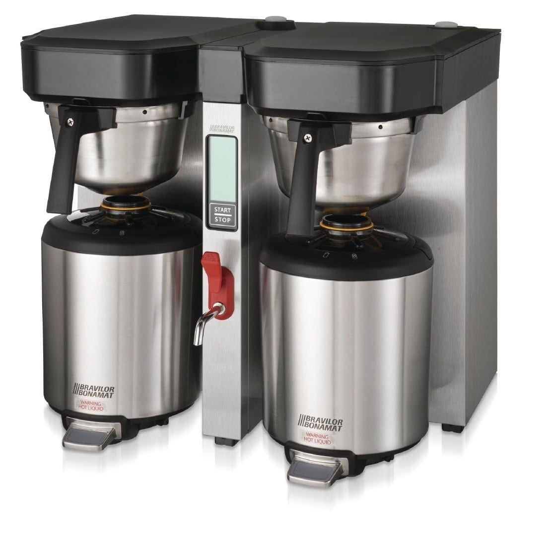 Bravilor Aurora 2 x 5.7Ltr Twin Low Profile Thermal Brewer (3 Phase) (Direct)-0