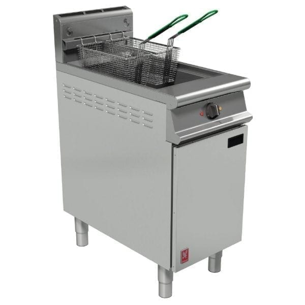 Falcon Dominator Plus Twin Basket Fryer with Filtration LPG (Direct)-0
