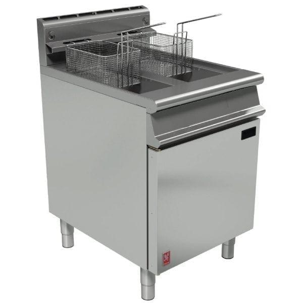 Falcon Dominator Plus Twin Pan Fryer LPG (Direct)-0