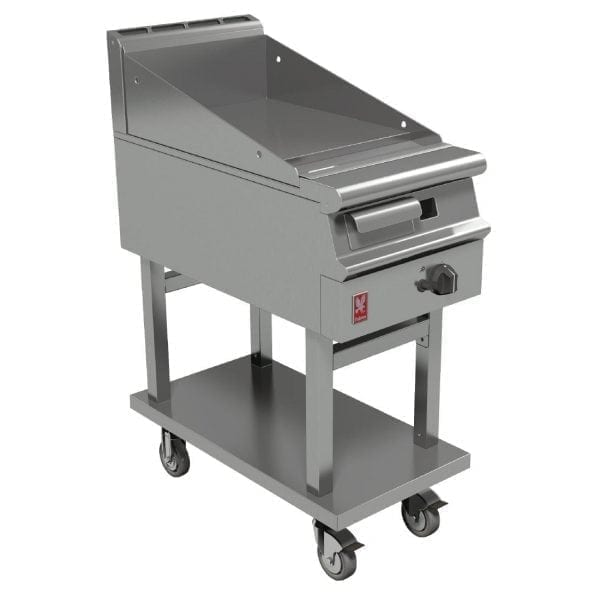 Falcon Dominator Plus 400mm Wide Smooth Griddle on Mobile Stand NAT (Direct)-0