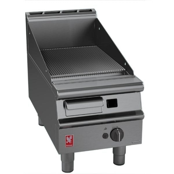 Falcon Dominator Plus 400mm Wide Ribbed Griddle LPG (Direct)-0