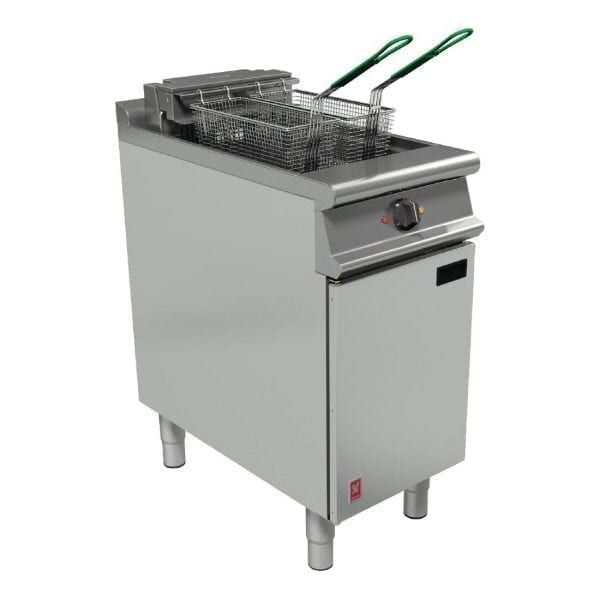 Falcon Dominator Plus Twin Basket Electric Fryer with Filtration (Direct)-0