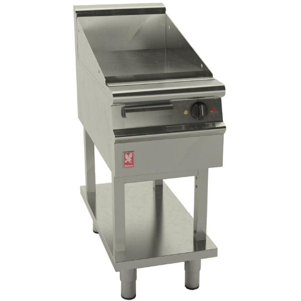 Falcon Dominator Plus 400mm Wide Smooth Electric Griddle on Fixed Stand (Direct)-0