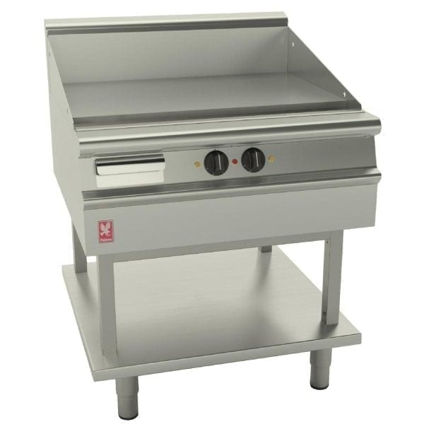 Falcon Dominator Plus 800mm Wide Smooth Electric Griddle on Fixed Stand (Direct)-0