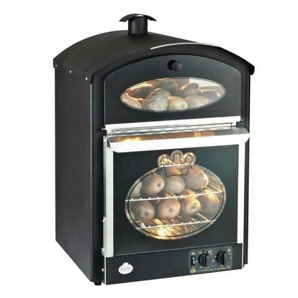 King Edward Bake King Mini Oven Black (Direct)-0
