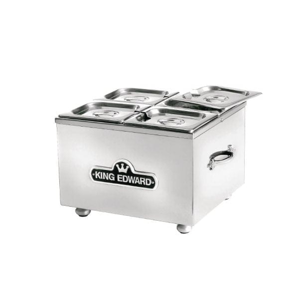 King Edward Small Bain Marie Stainless Steel (Direct)-0