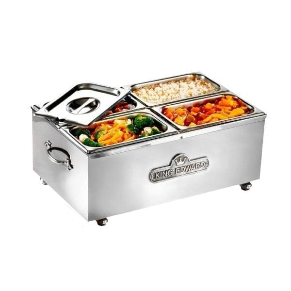 King Edward Large Bain Marie Stainless Steel (Direct)-0