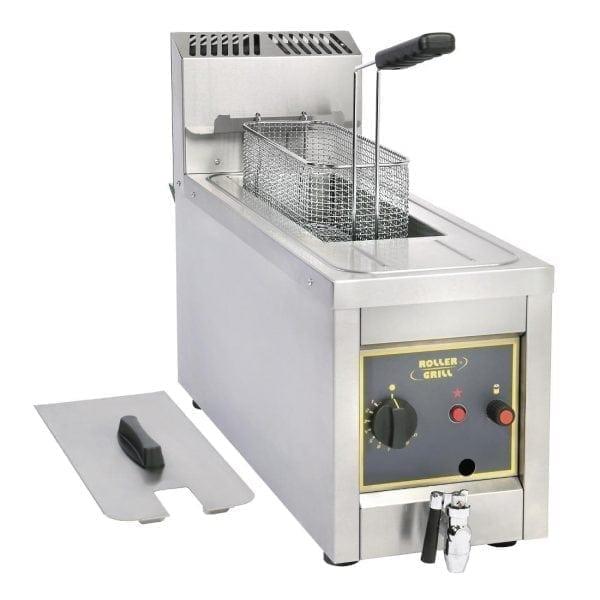 Roller Grill Fryer Single 8Ltr Gas (Direct)-0