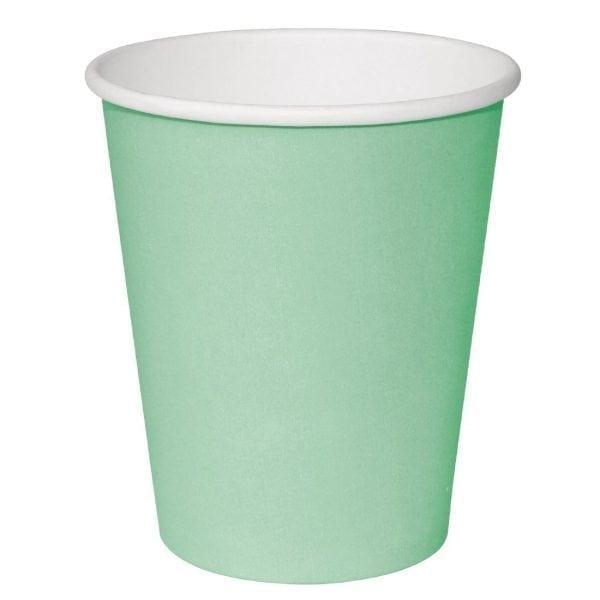 Fiesta Hot Cups Single Wall Aqua - 341ml (12oz) (Box 1000)-0