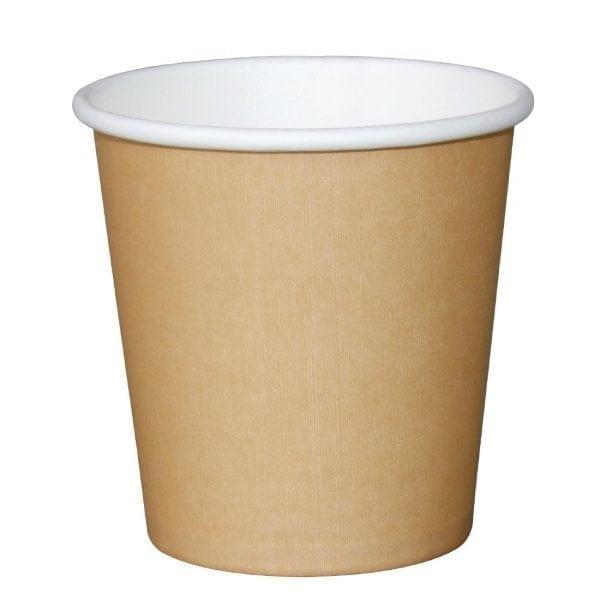Fiesta Espresso Cups Single Wall Kraft - 114ml (4oz) (Box 1000)-0