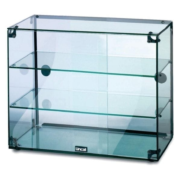 Lincat Seal Glass Display Cabinet with Doors - 490Hx600Wx350D (Direct)-0