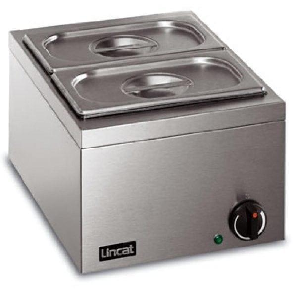 Lincat Bain Marie 2 Pot Wet or Dry Heat-0