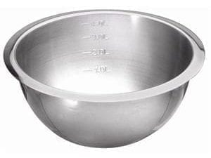 Heavy Duty Mixing Bowl Graduated St/St - 1.75Ltr-0