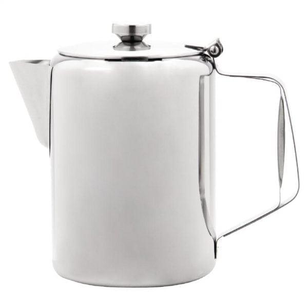 Olympia Concorde Coffee Pot St/St Mirror Finish - 1990ml 70oz-0