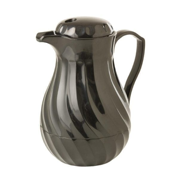 Connoisserve Insulated Swirl Jug Black - 0.6Ltr 20oz-0