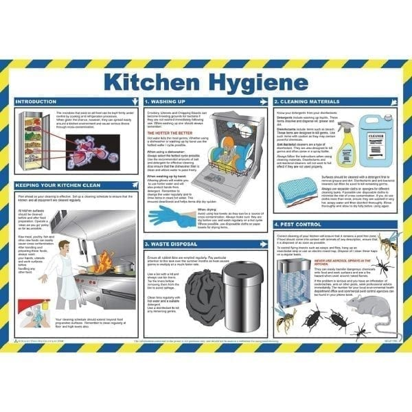 Kitchen Hygiene For Caterers Sign-0
