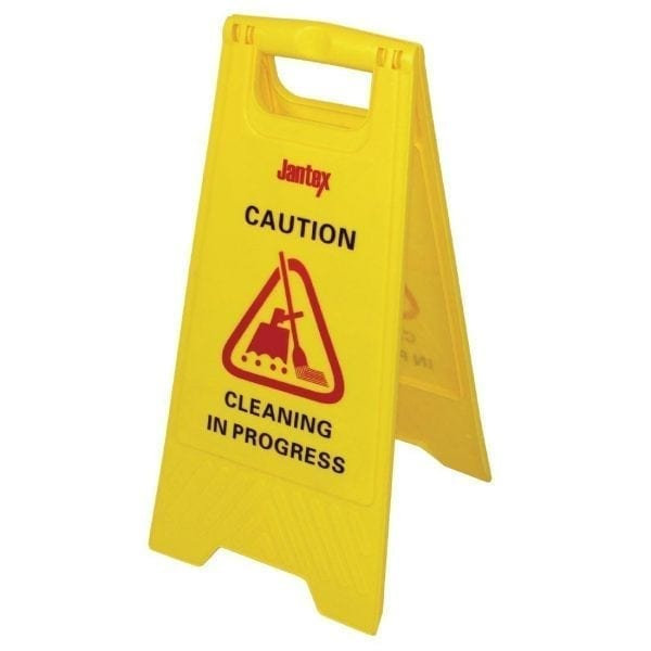 Jantex Wet Floor Sign 'Cleaning in Progress'-0