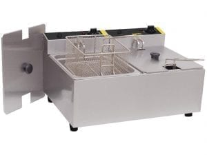 Buffalo Double Fryer - 2x5Ltr 2x2.8kW-0