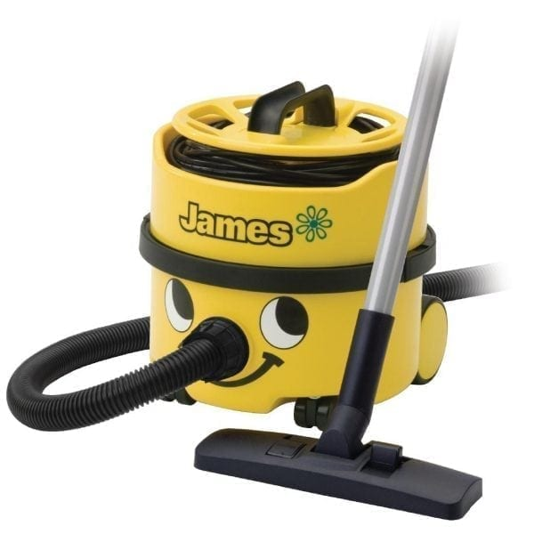 Numatic James Vacuum Cleaner - Yellow 620watt