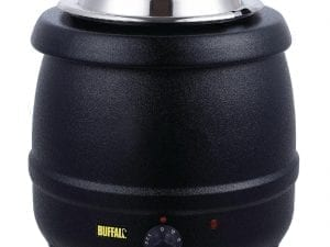 Buffalo Black Soup Kettle - 10Ltr-0
