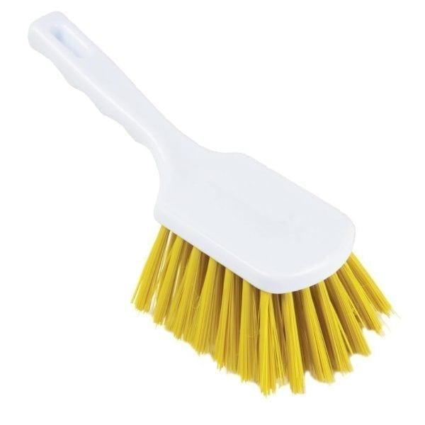 Hand Brush Stiff Yellow - 265mm