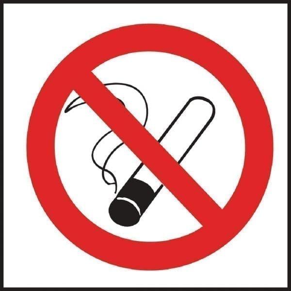 No Smoking Symbol - Single (Self-Adhesive)-0