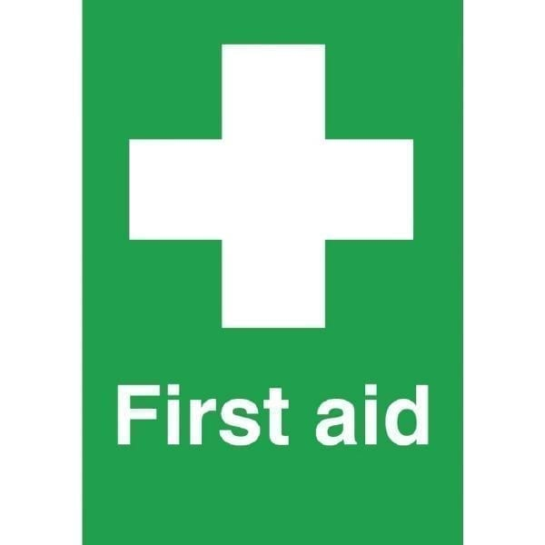 First Aid Symbol - Single - 150x100mm (Self-Adhesive)-0