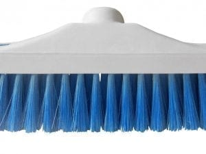 "Hygiene Brush Head 12"" - Stiff Bristle - Blue"