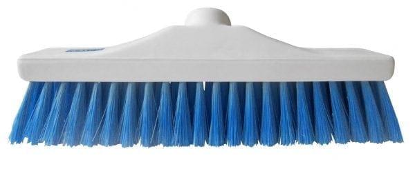 "Hygiene Brush Head 12"" - Stiff Bristle - Blue"
