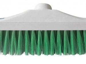 "Hygiene Brush Head 12"" - Stiff Bristle - Green"