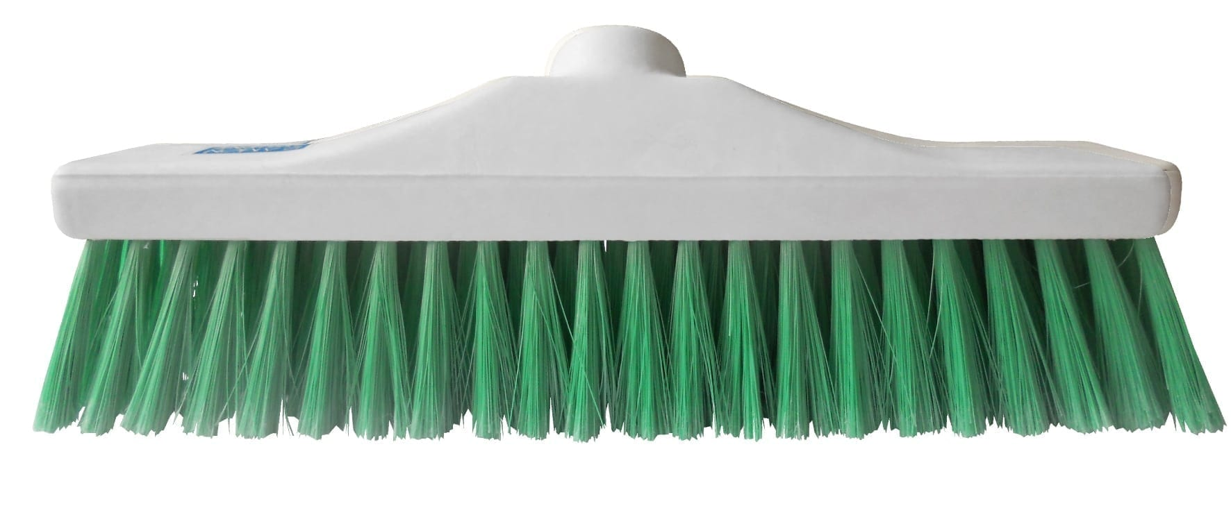 "Hygiene Brush Head 12"" - Stiff Bristle - Green"