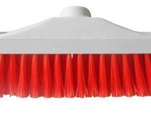 "Hygiene Brush Head 12"" - Stiff Bristle - Red"