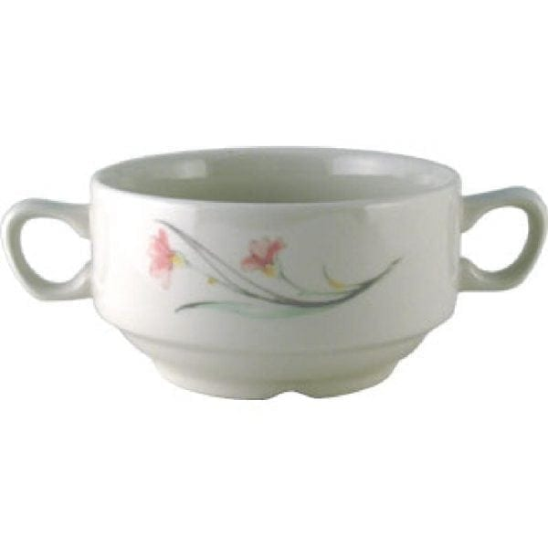 Chelsea Soup Bowl with Handles 14oz (Box 24) (Direct)-0