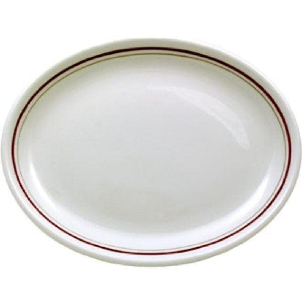 """Clyde Oval Plate/Platter 10"""" (Box 12) (Direct)-0"""