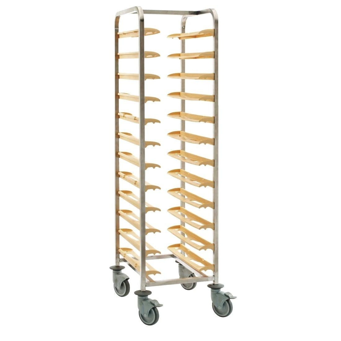 Bourgeat Cafeteria Clearing Trolley No Side Panels (Direct)-0