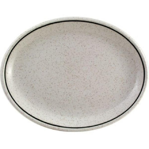 "Grasmere Oval Plate/Platter 8"" (Box 12) (Direct)-0"