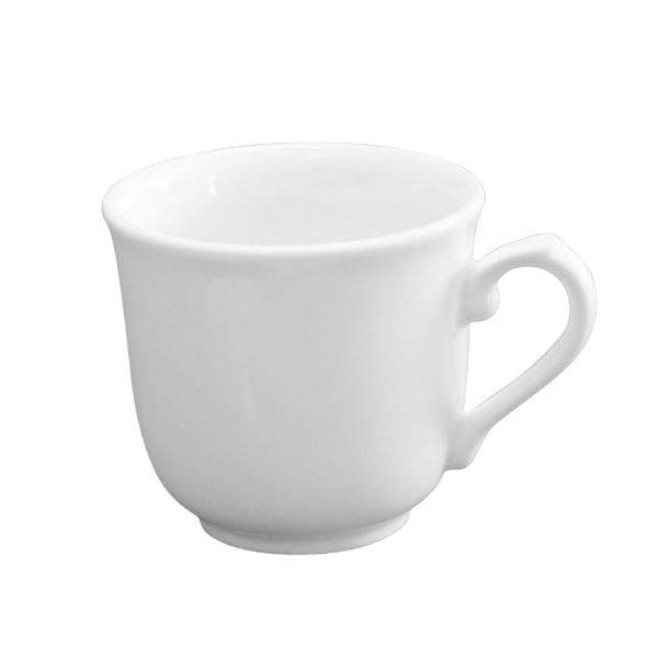 White Sandringham Elegant Cup - 7oz (Box 24)-0