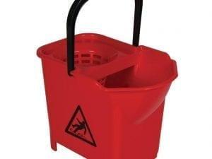 Mop Bucket Complete Red - 3 parts