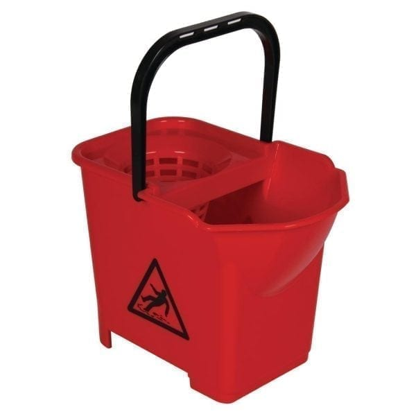 Mop Bucket Complete Red - 3 parts