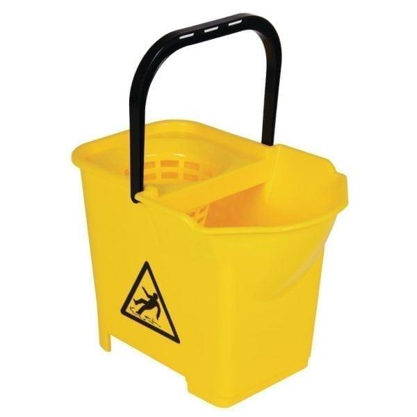 Mop Bucket Complete Yellow - 3 parts