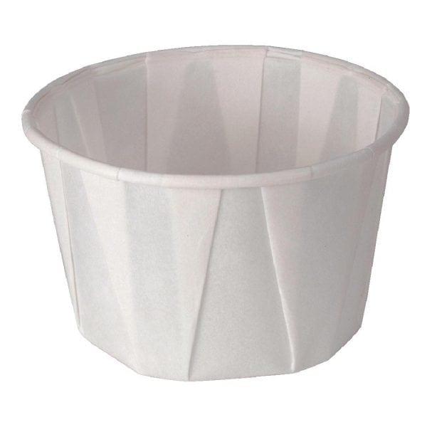 Sauce/Souffle Dish Wax Paper - 59ml 2oz (Sleeve 250)-0