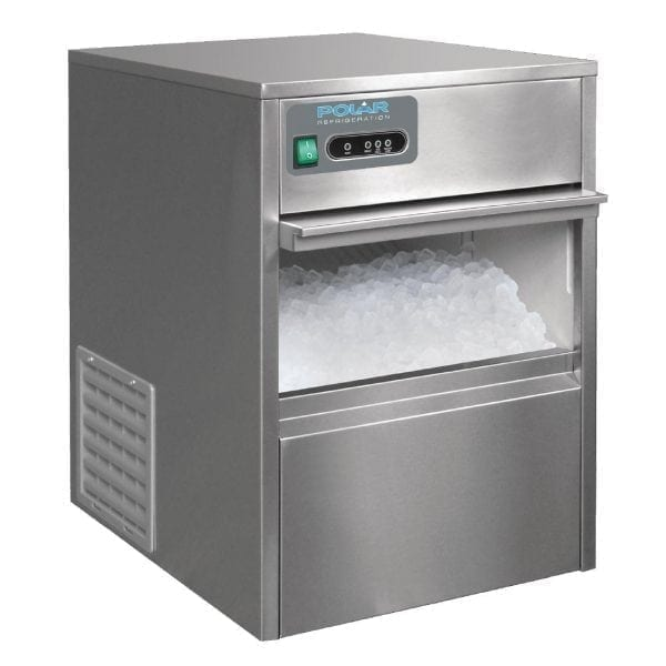 Polar Mains-Fill Ice Cube Maker - Max output 20kg/24hr-0