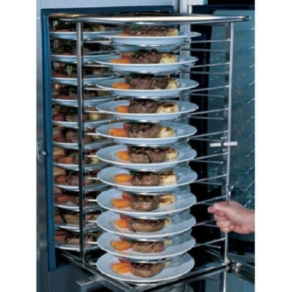 Rational Mobile Plate Rack 20 Plates Type 61 (Direct)-0