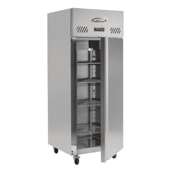 Williams Jade 1 Door 620Ltr Cabinet Meat Fridge R134a (StSt Ext/Alu Int)(Direct)-0