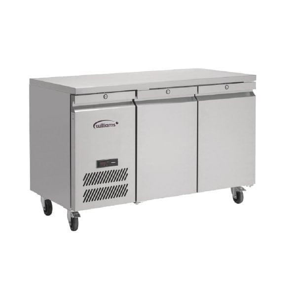 Williams Jade 2 Door 374Ltr Counter Freezer R404a (St/St Ext/Alu Int) (Direct)-0