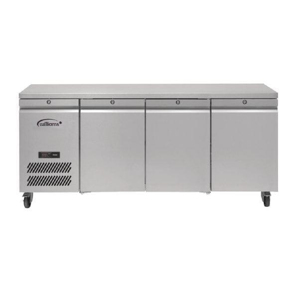 Williams Jade 3 Door 545Ltr Counter Freezer R404a (St/St Ext/Alu Int) (Direct)-0