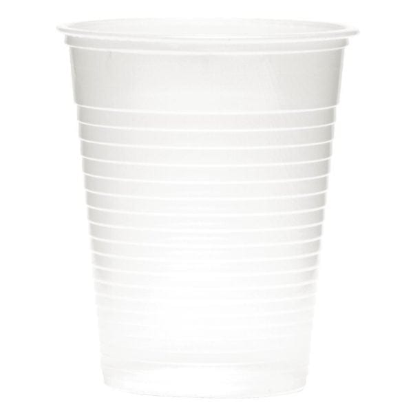 Disposable Cup Tall Translucent - 7oz (Box 2000)-0