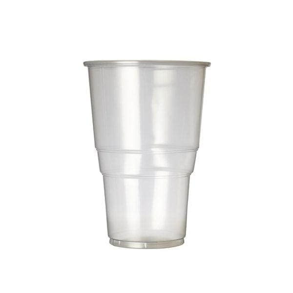Disposable Tumbler - 570ml 1pint to Rim (Box 1000)-0