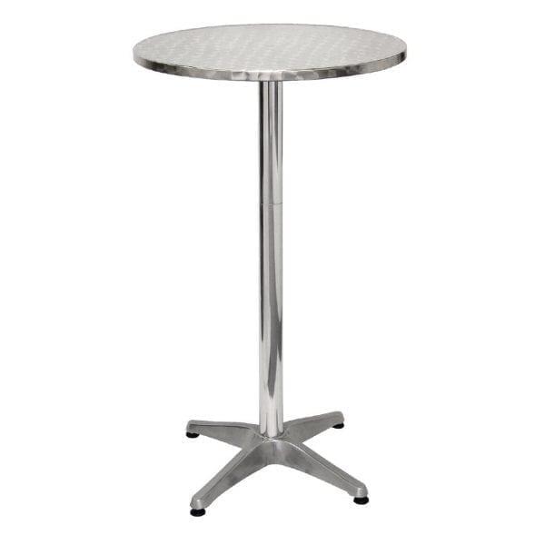 Bolero Poseur Table St/St - 60cm dia-0